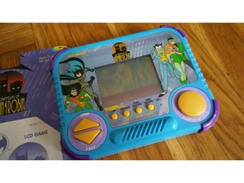 Tiger Electronics LCD BATMAN THE ANIMATED SERIES (1992) UTMÄRKT SKICK! KOMPLETT!