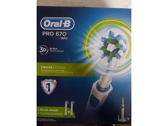 Oral-B Pro 670 Nytt!!! (328694539) ᐈ Köp på Tradera ad19404ed7213
