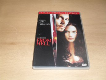 Dvd-film: From hell (Johnny Depp, Heather Graham) (2-discs)