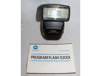 MINOLTA   Program Flash  5200i