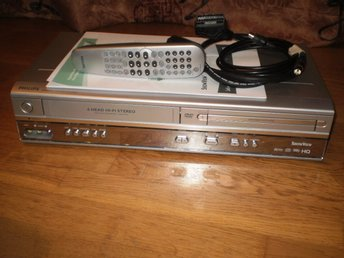 PHILIPS VHS/DVD DVP620VR ,,6-HEAD HI-FI,,,SP+LP,,CD,CD-R/RW,,MP3-CD MULTI-FORMAT