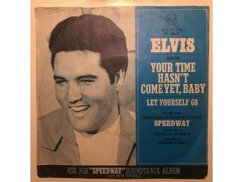 "7"" Elvis Presley - Let yourself go 68 Germany"
