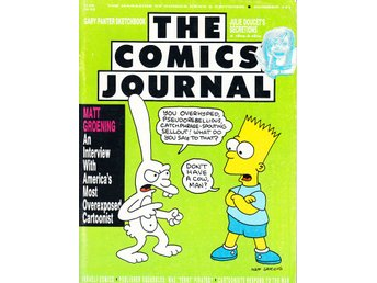 The Comics Journal nr 141 (1991) / Simpsons / FN- / snygg