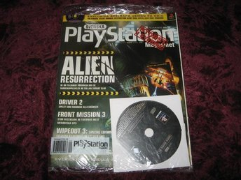 PLAYSTATION MAG Nr33 NY MED CD AUG/2000 ALIEN RES  INPLASTAD