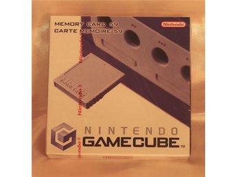 Nintendo GameCube Memory Card 59 (officiellt minneskort från Nintendo) - NY/NEW - Haparanda - Nintendo GameCube Memory Card 59 (officiellt minneskort från Nintendo) - NY/NEW - Haparanda