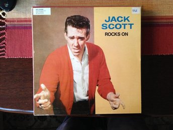 Jack Scott - Rocks on - Lp