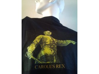 Exklusive T-hirt  Swedish King KARL XII ( 1682 - 1718 )  -  XL