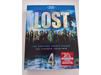 Lost: Säsong 4 (Lost: The Complete Fourth Season) 5-disc Blu-Ray, OBS! Region A