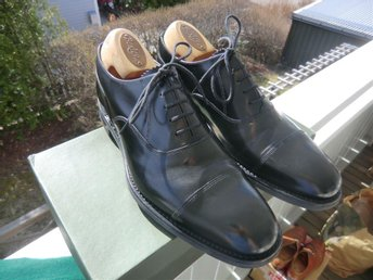 Loake Shoemaker oxfordskor storlek UK 7 Claridge