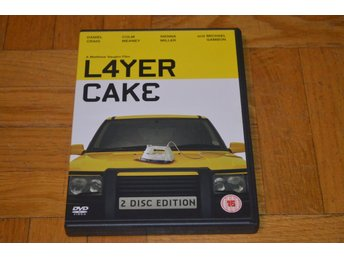 Layer Cake ( Daniel Craig ) - 2004 - DVD - 2-Disc - DVD