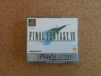 FINAL FANTASY VII, Playstation, German Version