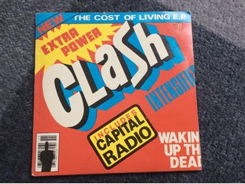 THE CLASH The cost of living E.P.  UK 1979