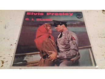 ELVIS PRESLEY - EP - G. I. Blues - Skivomslag - RCA 86.285 - Made in France - 63