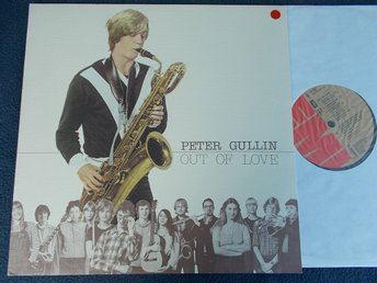 PETER GULLIN - Out of love, LP EMI 1980
