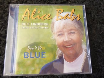 "Alice Babs ""Don't be blue"". CD"