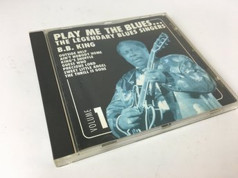 CD-skiva - Play me the blues - The legendary blues singers - 1999