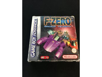 F-Zero Maximum Velocity till Game Boy Advance i fint begagnat skick med manualer