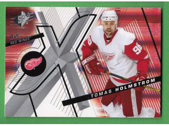 2008-09 SPx #59 Tomas Holmström Detroit Red Wings