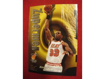 ALONZO MOURNING  - 1997-98 Z-FORCE - MIAMI HEAT - BASKET