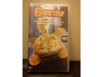 Garfield (Gustaf) (2004) VHS, både engelskt och svenskt tal, bra skick! - Kalmar - Garfield (Gustaf) (2004) VHS, både engelskt och svenskt tal, bra skick! - Kalmar