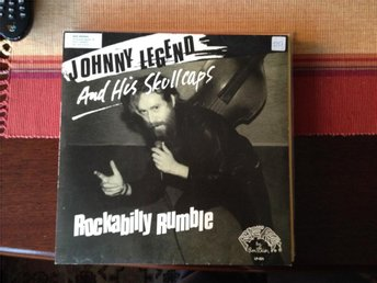Johnny Legend - Rockabilly Rumble - Lp