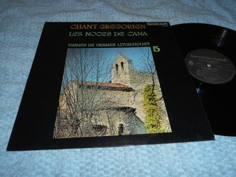 Chant Gregorien 5 Les Noces de Cana (LP) NM/EX