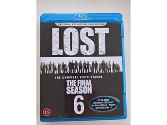 Lost: Säsong 6 (Lost: The Complete Sixth Season) 5-disc, Blu-Ray, Region All