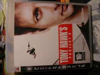 PS3 spel Tony Hawk´s project 8