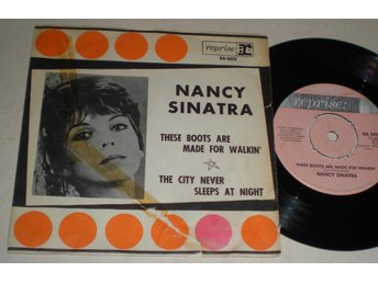 Nancy Sinatra 45/PS These boots are made for walking 1966 - Farsta - Nancy Sinatra 45/PS These boots are made for walking 1966 - Farsta