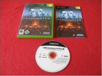 HEADHUNTER REDEMPTION till Xbox