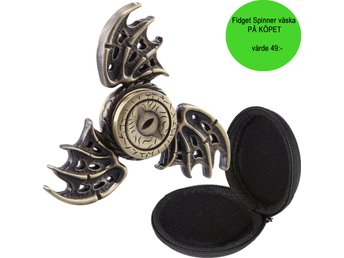 Fidget spinner - DRAGON EYE - inkl. väska.