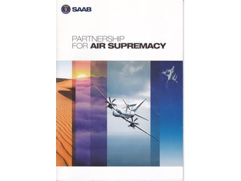 Broschyr SAAB Partnership for Air Supremacy /2009/