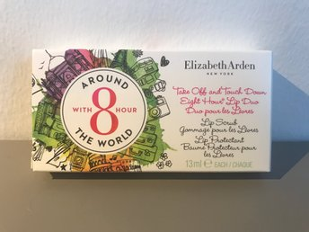 Elizabeth Arden around the world, Eight hourlip scrub och lip protectant, NYTT