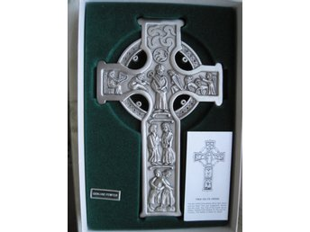 Krucifix,, metall, tenn,Jeweled Cross