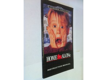 Megadrive Manual: Home Alone (Engelsk)
