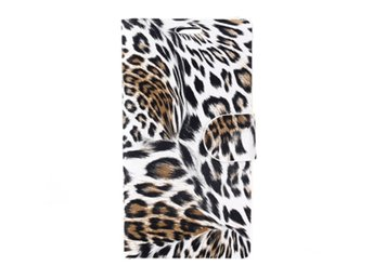 Sony Xperia Z3 Compact Fodral Leopardm?nster Brun