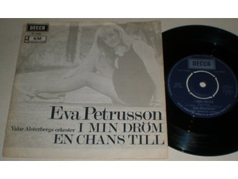 Eva Petrusson 45/PS I min dröm 1969
