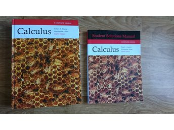 Calculus Åttonde utgåvan med Students Solutions Manual Robert A. Adams m.fl