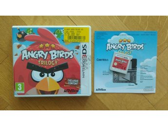 Nintendo 3DS: Angry Birds Trilogy
