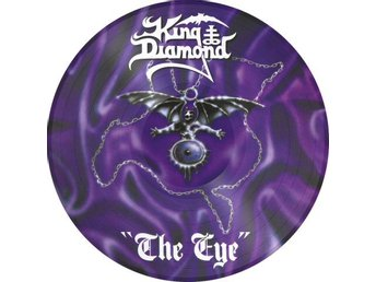King Diamond -The eye PIC-DISC Metal Blade ltd 2000 copies
