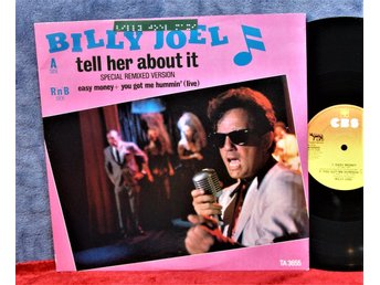 BILLY JOEL   TELL HER ABOUT IT   MAXI SINGEL   UK   VINYL   MKT FIN KOM 1983