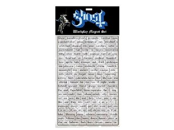 Ghost -Worldplay magnet set Offical Loma vist 2018 Prequelle