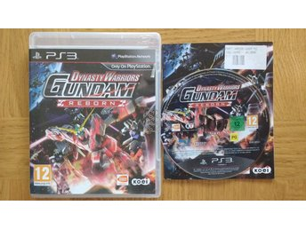 PlayStation 3/PS3: Dynasty Warriors Gundam Reborn