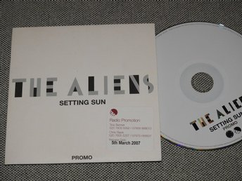 The Aliens - Setting Sun CD Singel 2007 (Pappfodral) PROMO