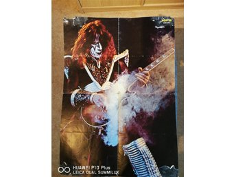 Kiss poster Ace Frehley