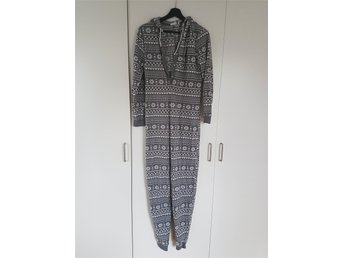 Strl XS fleecedress, mjukisdress fleece onesie pyjamas