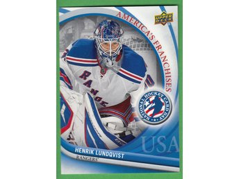 2011-12 UD National Hockey Card Day USA #3 Henrik Lundqvist New York Rangers