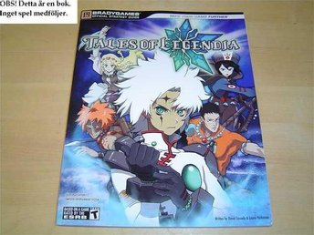 GUIDE WALKTHROUGH TALES OF LEGENDIA PLAYSTATION 2 *NYTT*