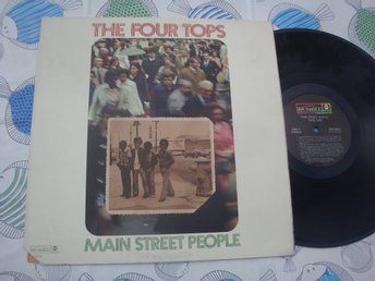 THE FOUR TOPS - MAIN STREET PEOPLE LP 1973