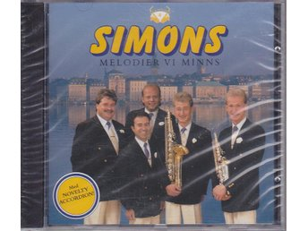 SIMONS: Melodier Vi Minns (Novelty Accordion) 1992 - NY CD